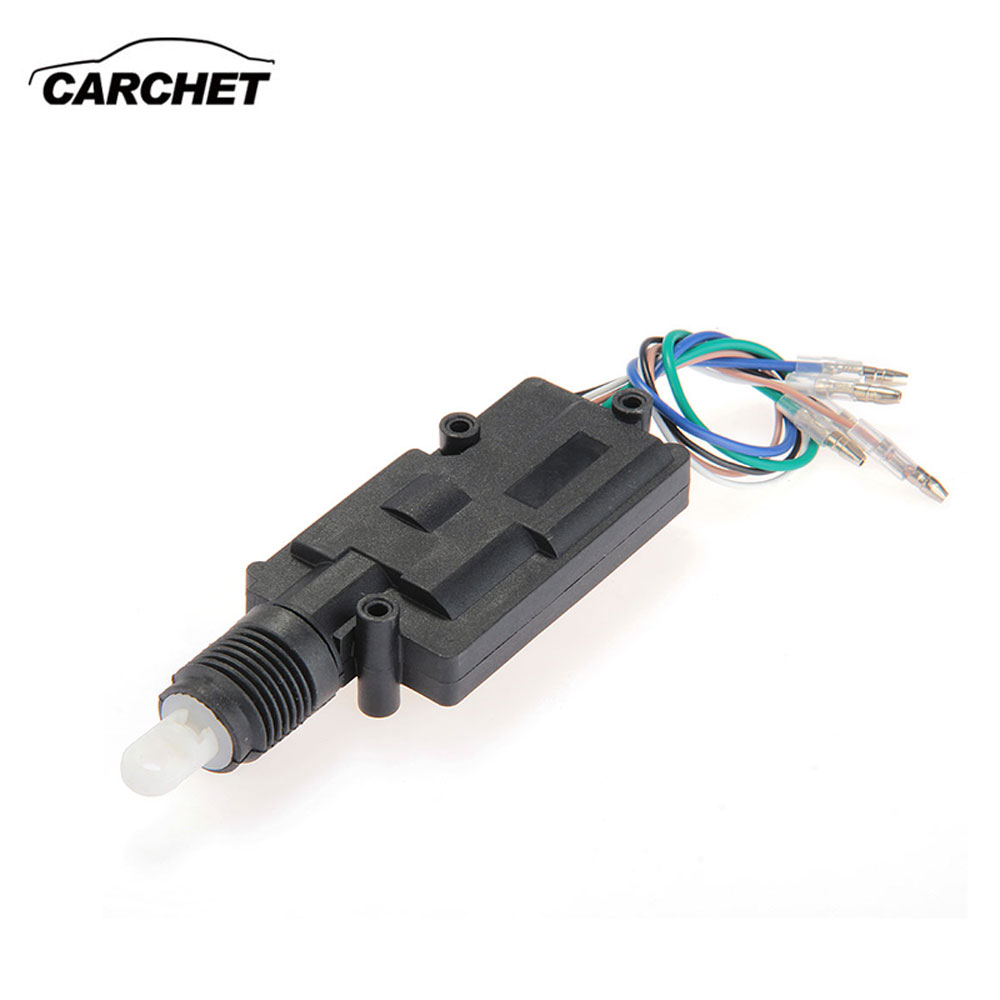 CARCHET Universal Car Auto Truck Door Lock Actuator Heavy Duty Power Master Locking Alarm System Tools 5 Wire 12V FREE SHIPPING