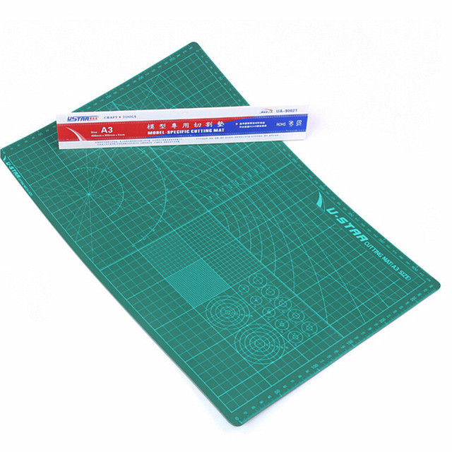 OHS Ustar UA 90021 UA 90022 Model Specific Cutting Mat A3 A4 Size Pad Model Design Model Hobby Cutting Tools Accessory