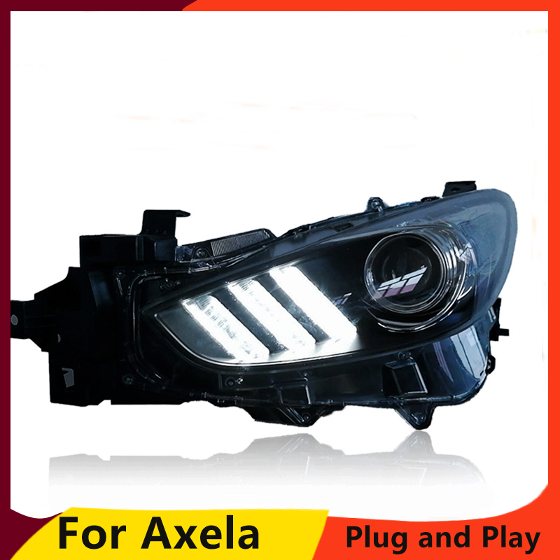 Car Styling for U S Version Toyota Camry Headlights for toyota camry 2012 2014 LED Headlight