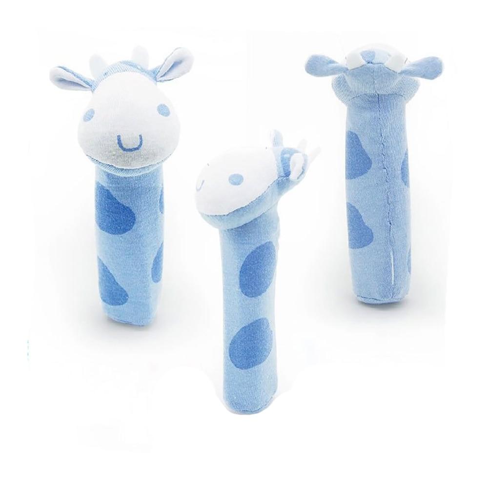 Cute Plush Stuffed Animal Baby Cottaky Sticks Toys Lovely Hand Bell - Խաղալիքներ նորածինների համար - Լուսանկար 5