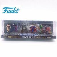 FUNKO POP! DC Wonder Woman Joker Batman Superman Green Lantern The Flash Vinyl Doll Action Figures Birthday Party Gift Model Toy