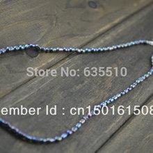 Серый цвет пресной воды Жемчужное рисовый бисер ожерелье