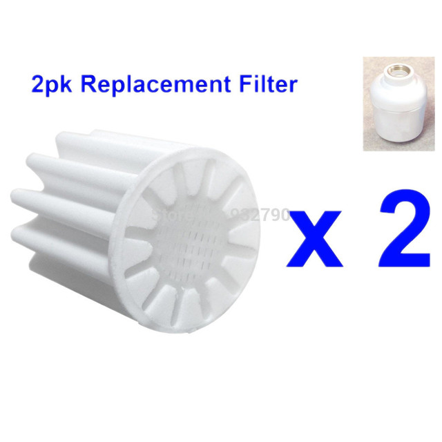 New 2pk Replacement Filter PE Core Element Bathroom In Line Faucet ...