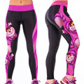 SEBOWEL  Charactre Print Fashion Leggings Fitness Women Leggins Jeggings Clothes Women Global Free Shipping