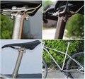 Titan legierung Bike sattelstütze für MTB/Road fahrrad sattelstütze 27,2/30,9/31,6*350mm sitz rohr Aluminium kopf