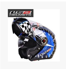 Free shipping 24 colors 100% authentic LS2 ff370 motorcycle helmets, helmet double lens