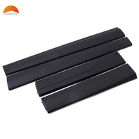 For Audi Q5 2013 2014 2015 2016 Rubber Car Body Side Door Cover Trim Molding Protector Sticker Styling Auto Accessories 4pcs/set
