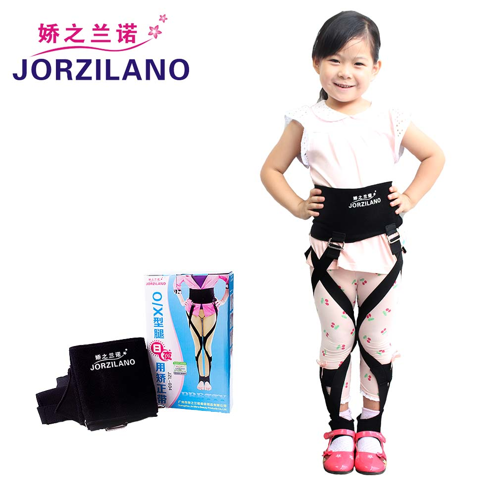 JORZILANO Children's Corrective Scupting Legs Bandage Band O/X Type Leg Correction Belts Day Night Use Walk Recovery Corrector ferrino o hare day pack