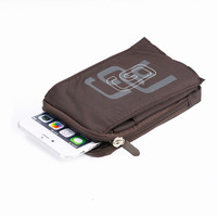 Outdoor Arm Band Shoulder Belt Clip Sports Zipper Mobile Phone Cases Bags For Samsung Galaxy J7