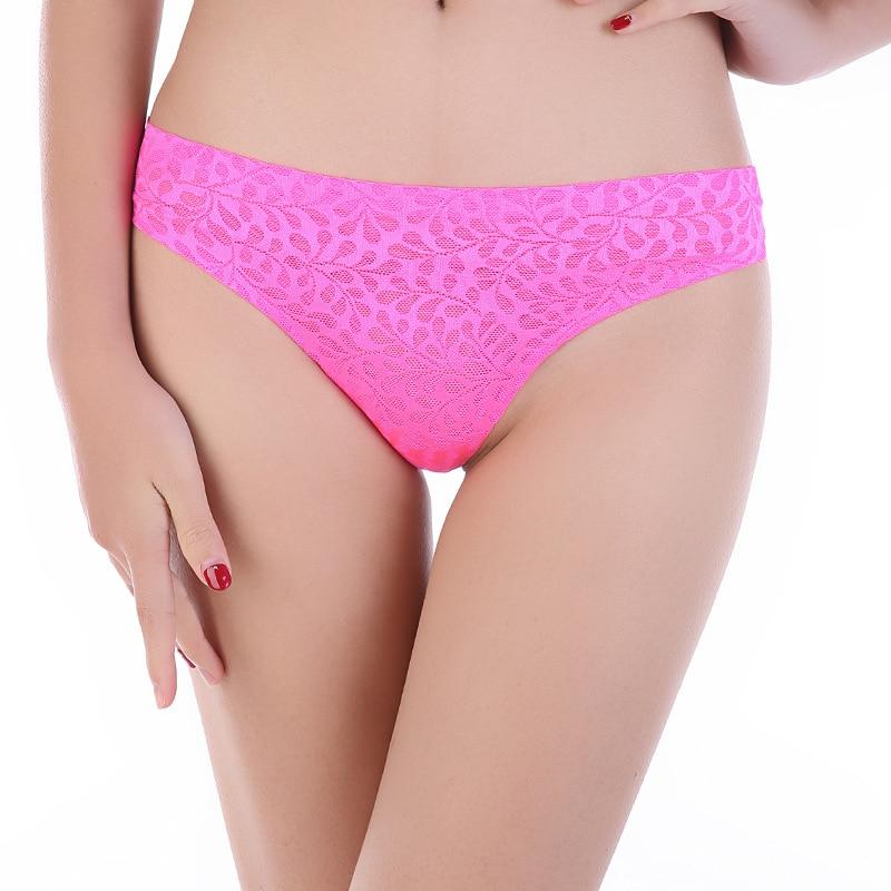 Buy SEEDRULIA  Sexy Women G String Thongs Low Waist Tanga Briefs Sexy Panties Ladies' Seamless Lingerie Female Underwear