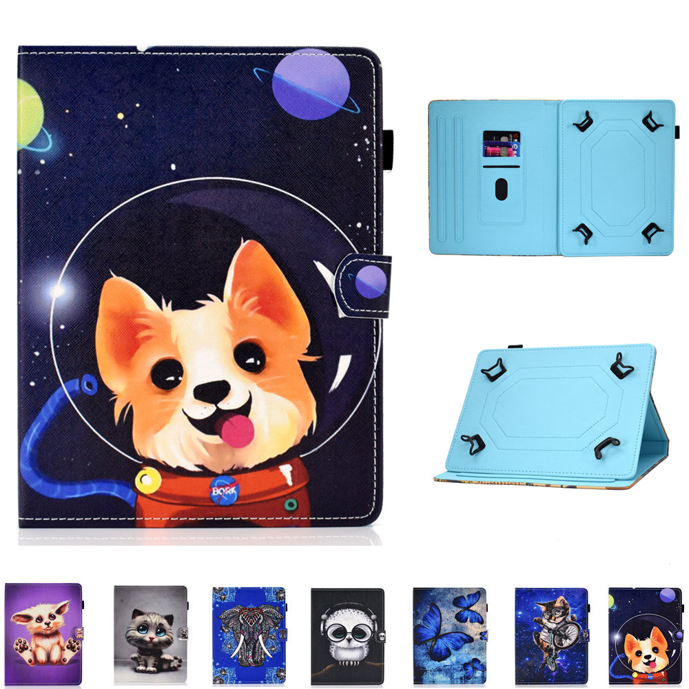 Universal Stand Case Cover for DEXP <font><b>Ursus</b></font> S169 MIX/A169/A169i/A269/KX270/K370/NS470/S370/<font><b>S270</b></font>/H170 3G Tablet 7 Inch Sleeve image