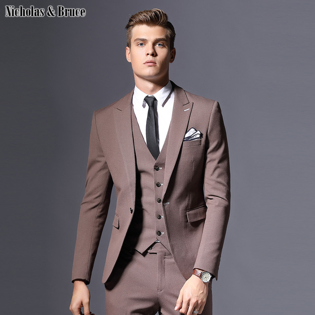 768b1fc08ce09 Ürün Açıklaması. Tüm dürüstlükle, ben fikirdi N & B takım elbise erkekler  2019 Erkek Klasik Damat Takım Elbise Büyük Son Pantolon Ceket Tasarımları Iş  ...