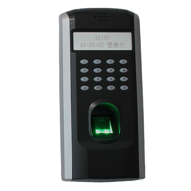 ZK F7 TCP/IP Biometric Fingerprint Time Clock Attendance System Door Access Control with Free Software zk iface701 face and rfid card time attendance tcp ip linux system biometric facial door access controller system with battery