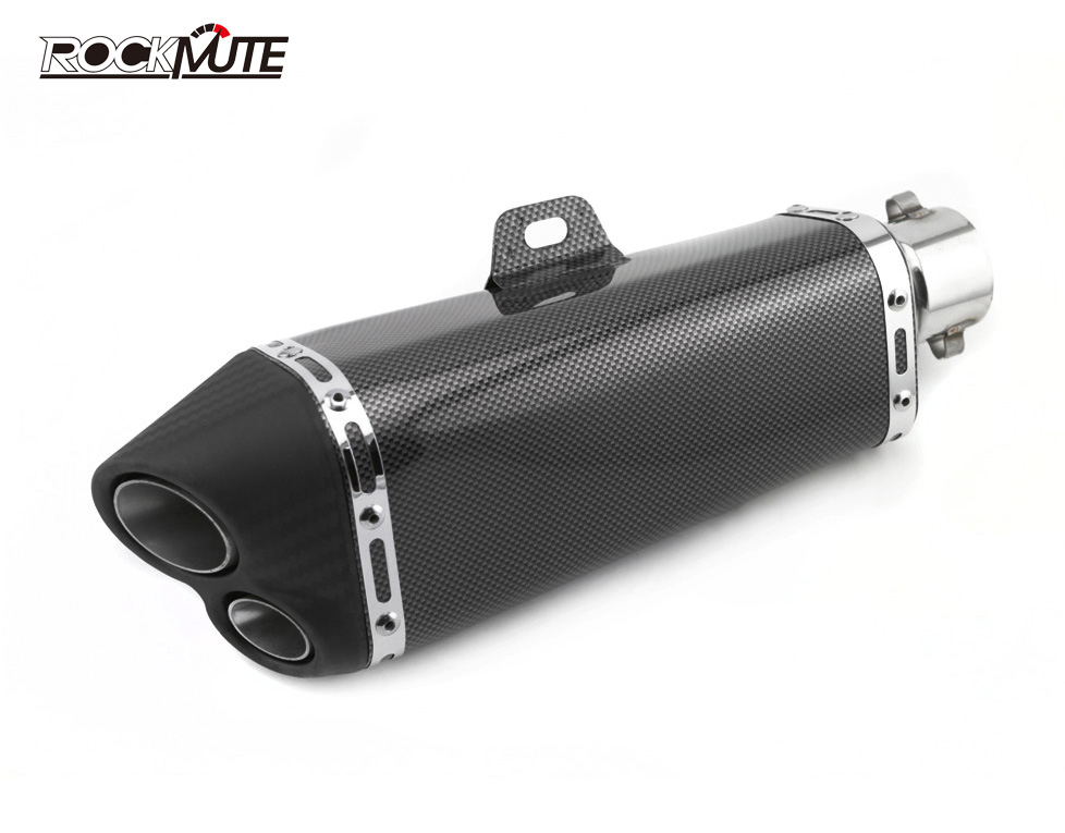 Motorcycle Accessories Stainless Steel GP Style Racing Exhaust Muffler Pipe with DB Killer/Silencer for 51mm Universal MotorbikeMotorcycle Accessories Stainless Steel GP Style Racing Exhaust Muffler Pipe with DB Killer/Silencer for 51mm Universal Motorbike
