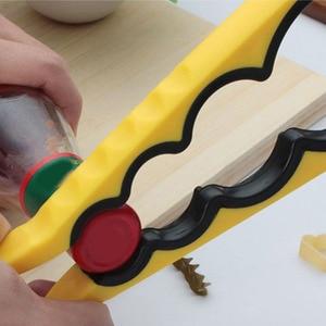 Многофункциональные кухонные инструменты 4 в 1 открывалка для банок, ключ, креативный винтовой колпачок, пластиковые открыватели для бутыло...