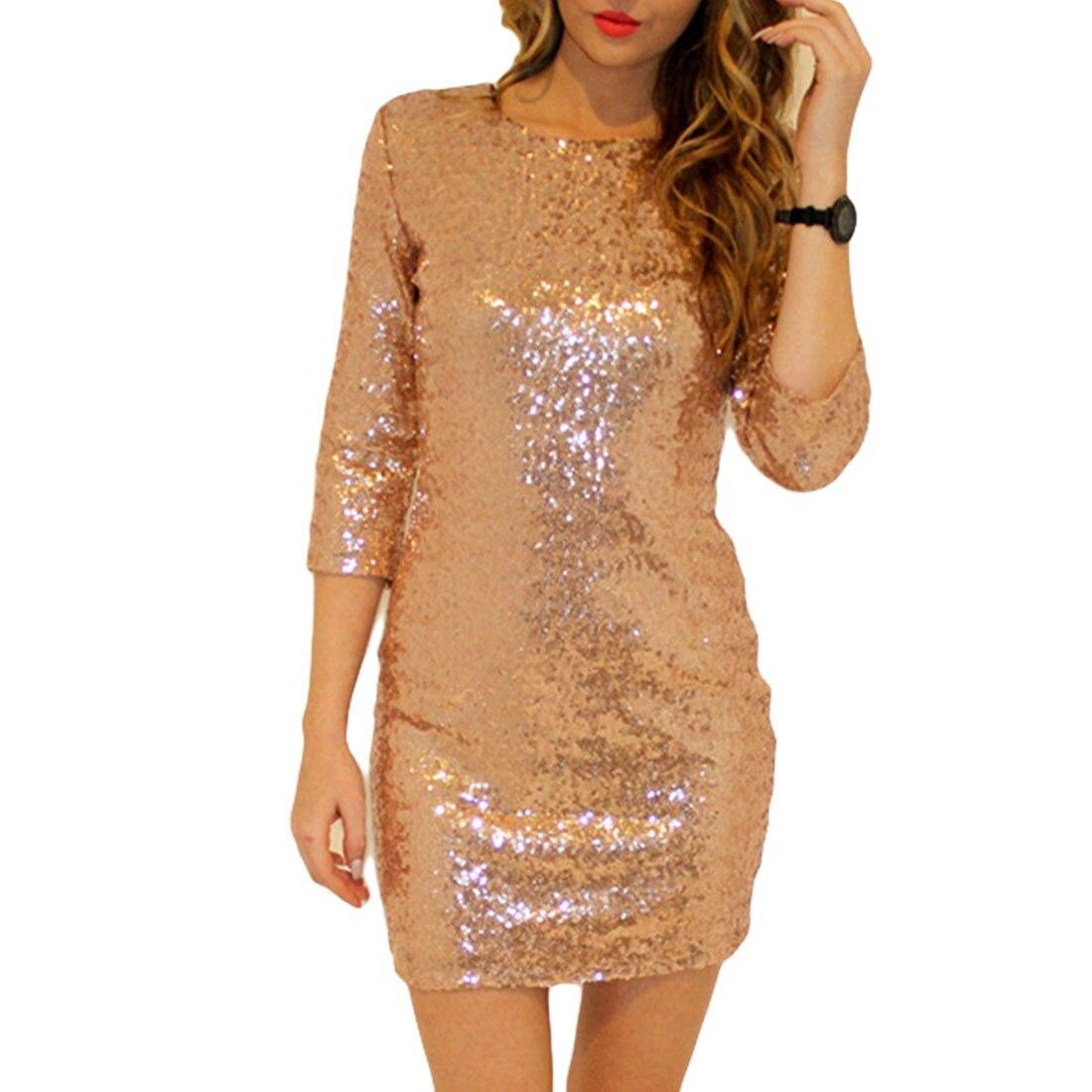 1Pcs Dresses Bag Hip Perspective bar club Halter Dress Fashion Sexy Bar Club Party Sequins Slim Ladies