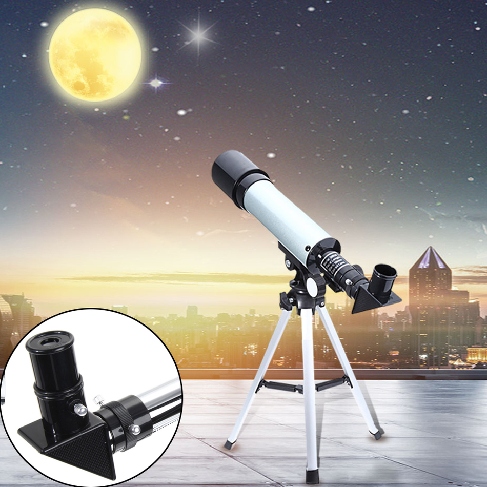 90X High Power F36050mm Refractor Monocular Astronomical Telescope for Kids with Portable Tripod Monocular Telescope