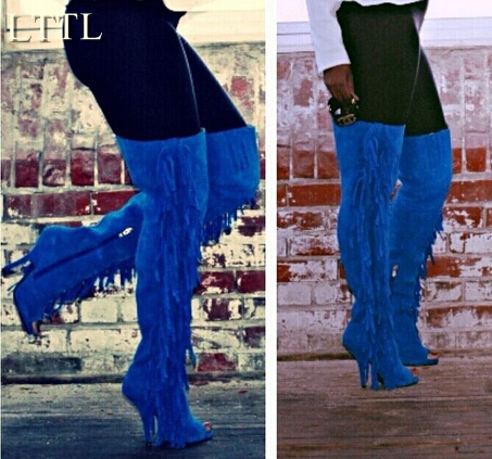 Popular High Fringe Boots-Buy Cheap High Fringe Boots lots from ...