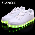 Size 35-45 On Sale Luminous Glowing Sneakers Children kids Led Shoes With Light up LED Slipper Boys girls Lumineuse shoes