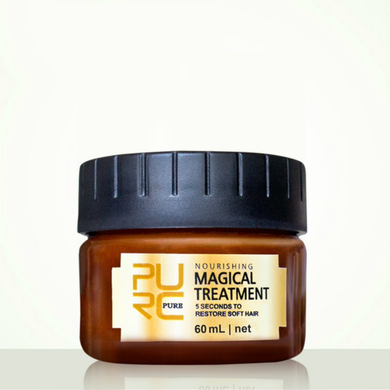Fast Restores Damage Soft Hair For All Hair Keratin Hair Types And Scalp Treatment Hair Smooth 60 ml