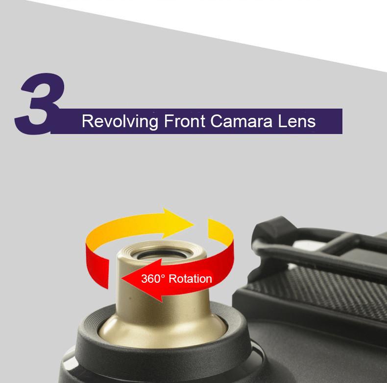 E-ACE Car Dvr Rearview Camera Mirror Auto Dashcam Video Recorder Automobile Full HD1080P Camcorder Dual Camera Lens Registrator 12