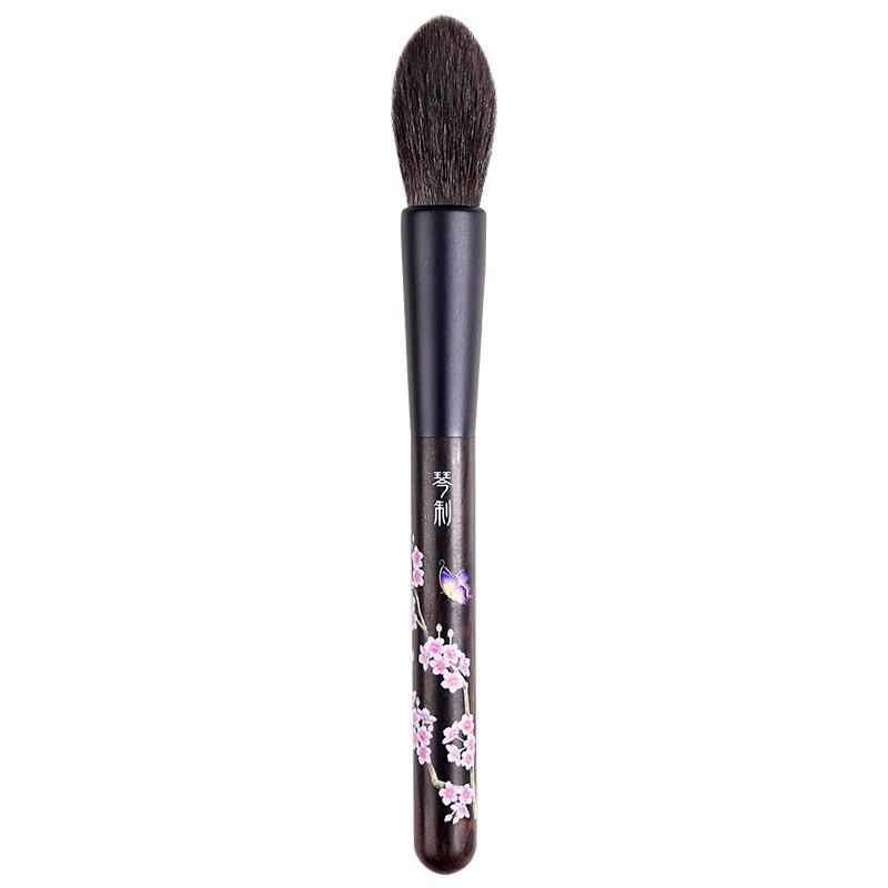 H207 Professional Makeup Brushes Ultra soft Blue Squirrel Hair Highlighter Brush pincel maquiagem Make Up Brush