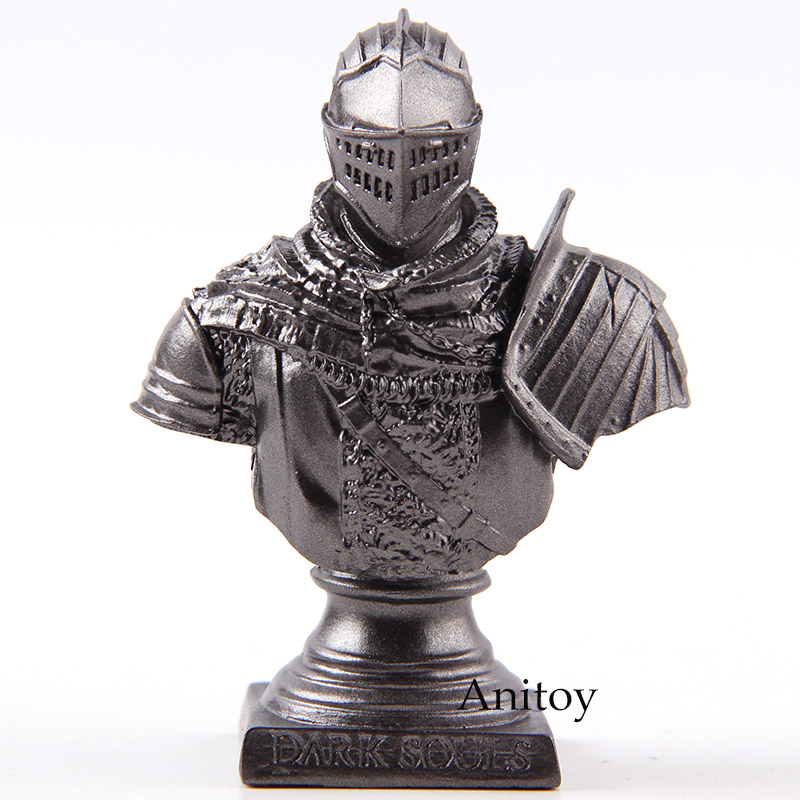 Dark Souls Knight Bust Statue Mini PVC Action Figure Collectible Model Toy