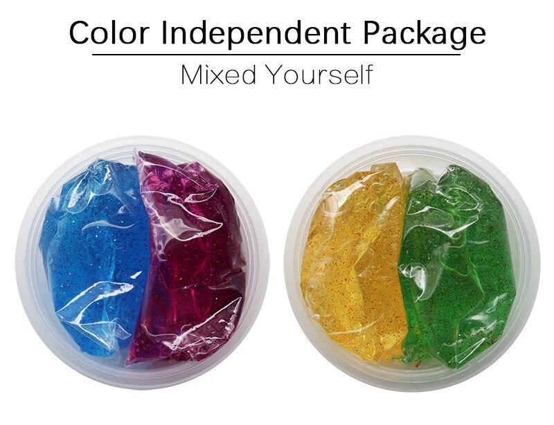 DIY Glitter Crystal Slime 21