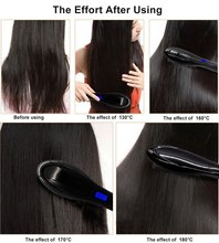2018 AS SEEN ON TV New Hair Straightening Brush As Seen As On TV Electric Hair Brush Straightener irons with EU US AU UK Plug