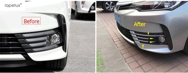 Toyota Corolla Accessories >> Accessories For Toyota Corolla 2017 2018 Chrome Front Fog Light