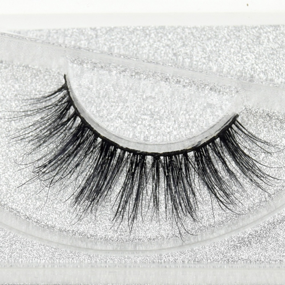 Visofree Eyelashes 3D Mink Eyelashes Long Lasting Mink Lashes Natural Dramatic Volume Eyelashes Extension False Eyelashes D01