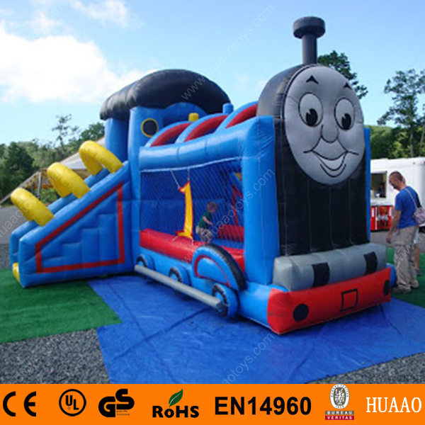 Commercial Thomas The Train inflatable bouncer castle with