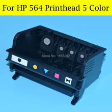 HOT!! 5 Color For HP564 printerhead For HP printer B6550 C5380 C6375 C6340 C6350 C6380 D5460 C510A D5445 printer head цена 2017