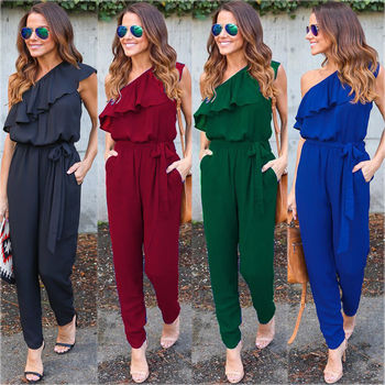 New Fashion Summer Women Ladies Clubwear Playsuit Bodycon Party Jumpsuit Romper Trousers Sexy Clothes
