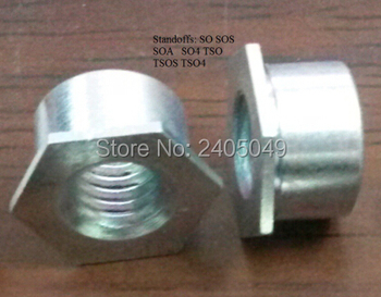 SO4-M3-3  Thru-hole threaded  standoffs,  stainless steel 416, vacuum heat treatment ,PEM standard,in stock, Made in china,