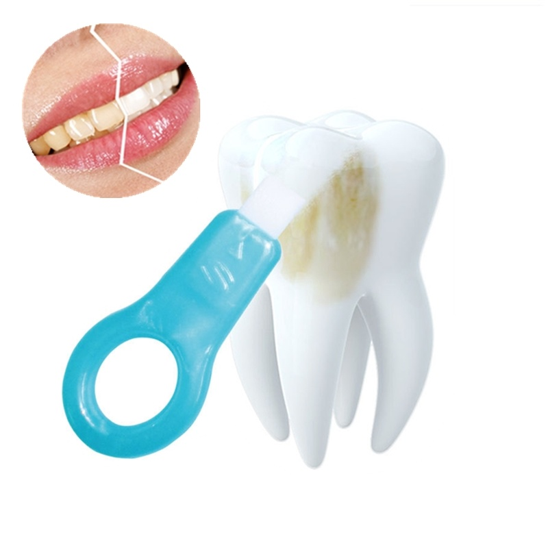 6pcs Teeth Whitening kit Nano Tube Teeth Cleaning Whitener Brush Tooth Stains Remover Teeth Cleaning Strips for Oral Deep Clean