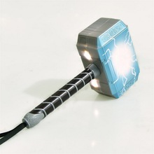 Newest Avengers Alliance LED Glowing&Sounding Thors Hammer Mask Thor Action Figures Cosplay Kids Brinquedos Gift