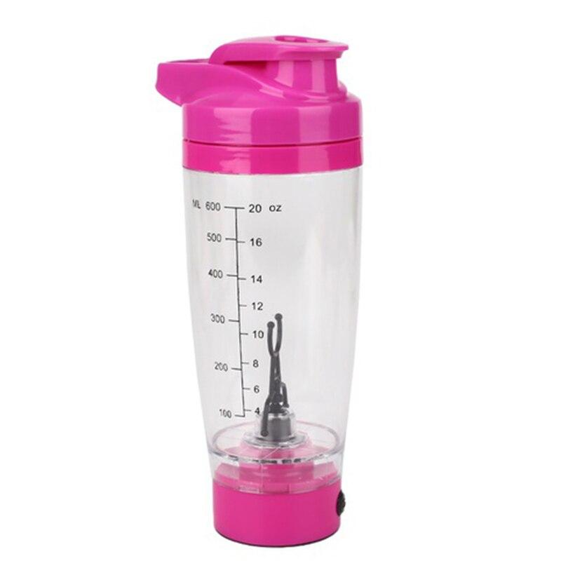 Mejor portátil Vortex Electric Protein Shaker mezclador botella taza desmontable