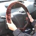 3 Pçs/lote Charme Quente Lã Inverno Tampa Da Roda de Direcção Do Carro de Pelúcia Lã LR15 Travão de Mão Do Carro Acessório Venda Quente Frete Grátis