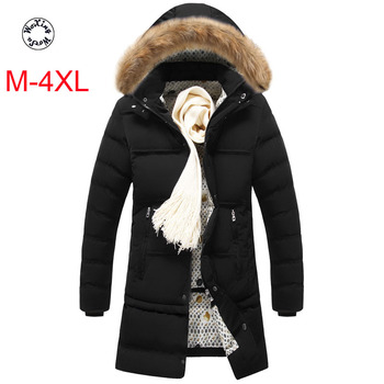 Woxingwosu hooded parkas mid-long down cotton coat Europe and America big code Coat youth thick hair collar jacket.  M to 4XL woxingwosu girl s hooded down coat large code light down jacket female short super light and thin s to 4xl 5xl xl 7xl 8xl