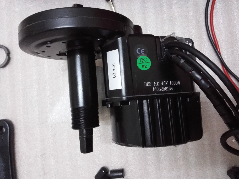 Bafang Bbs03 Bbshd Lastest Model 48v 1000w Ebike Electric