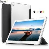 Case For Huawei MediaPad M3 Lite 10 10 1 Translucent Tri Fold PU Leather Smart Flip