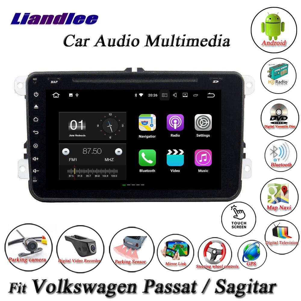 Liandlee Car Android System For Volkswagen VW Passat / Sagitar Radio CD DVD Player GPS Nav Navi Navigation HD Screen Multimedia