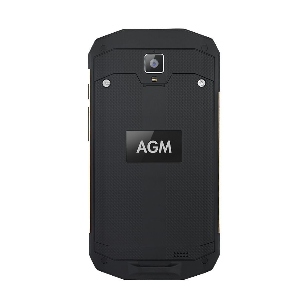 "Image 2 - OFFICIAL AGM A8 5""4G+64G FDD LTE Android 7.1 Mobile Phone 2SIM IP68 Rugged Phone Quad Core 13.0MP 4050mAh NEW NFC OTG Smartphone-in Cellphones from Cellphones & Telecommunications"