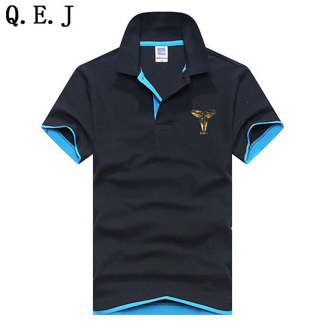 low priced 9362f f7bf7 US $17.99  Q.E.J Plus gross XS 3XL Brand New Men's Polo shirt Men's Short  Sleeve Cotton Jerseys Polo Shirts Jerseys Golftenis 15 color-in Polo from  ...