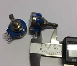 RVQ24YN03-25F B502 25mm medio eje 2W potenciómetro de película de carbono único rotativo Pot x 10 Uds