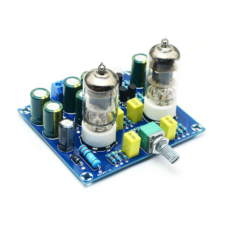SOTAMIA 6J1 <font><b>Vacuum</b></font> <font><b>Tube</b></font> Preamplifier Amplifier Board Headphone Amplifier Preamp Bile <font><b>Amp</b></font> <font><b>Diy</b></font> Speaker Home Sound Theater image