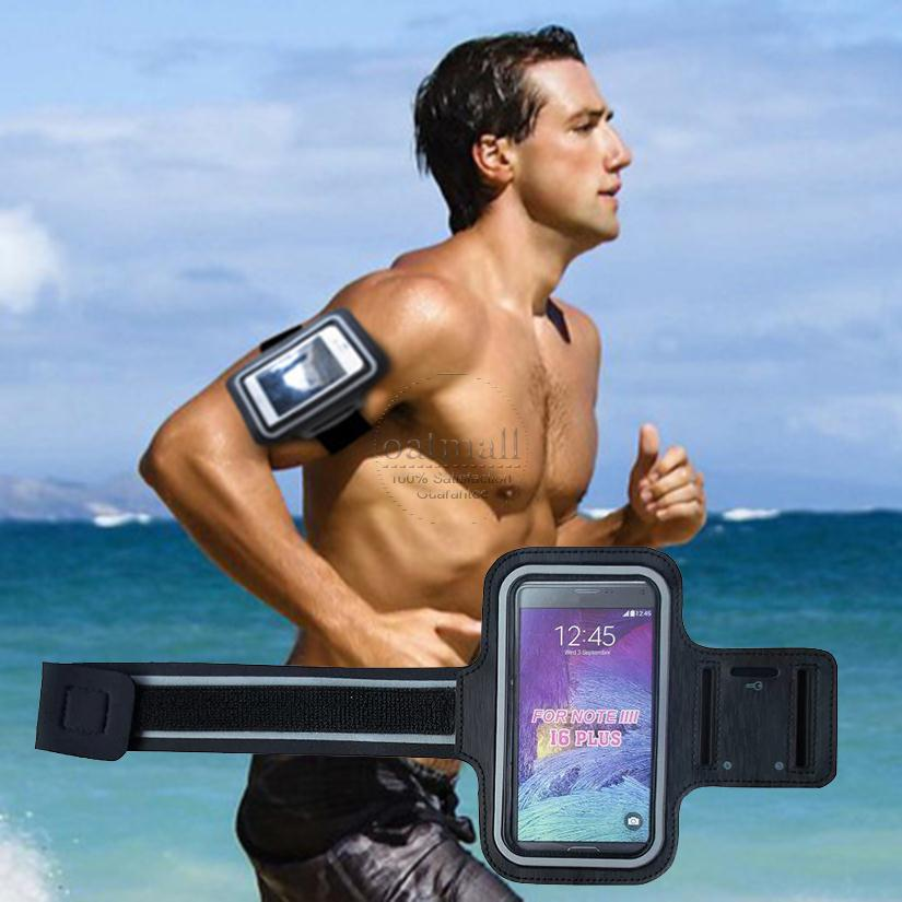 Mobile Phone Accessories Armbands Floveme Sport Running Armband Phone Wrist Band Universal Mobile Phone Cycling Arm Band Case For Iphone Samsung Xiaomi Handphone