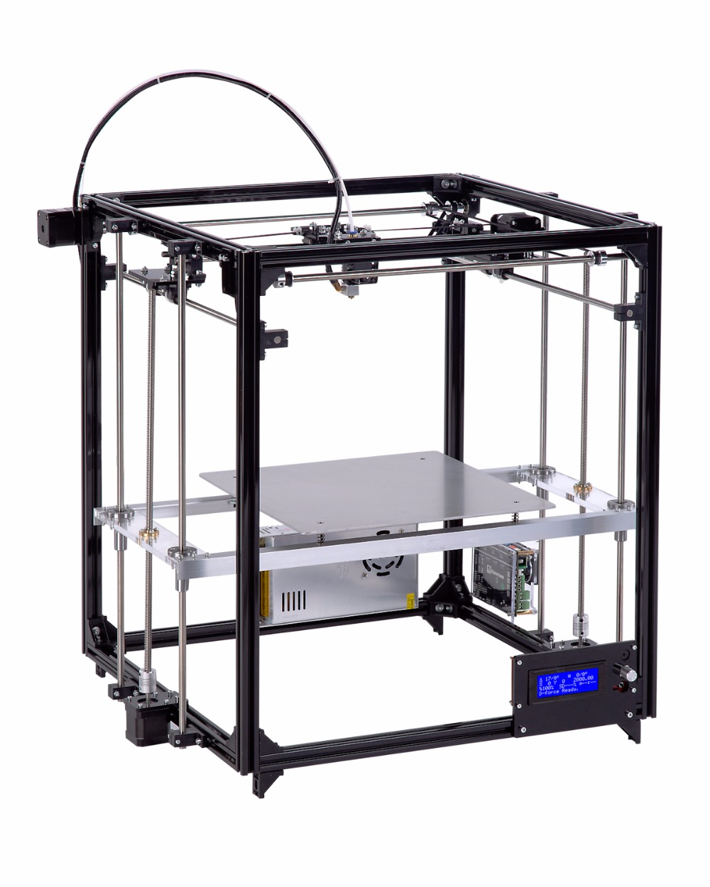 Germany warehouse Flsun 3D Printer Large Printing Size 260*260*350mm Touch Screen Heated Bed SD Card ,Two Rolls Filament