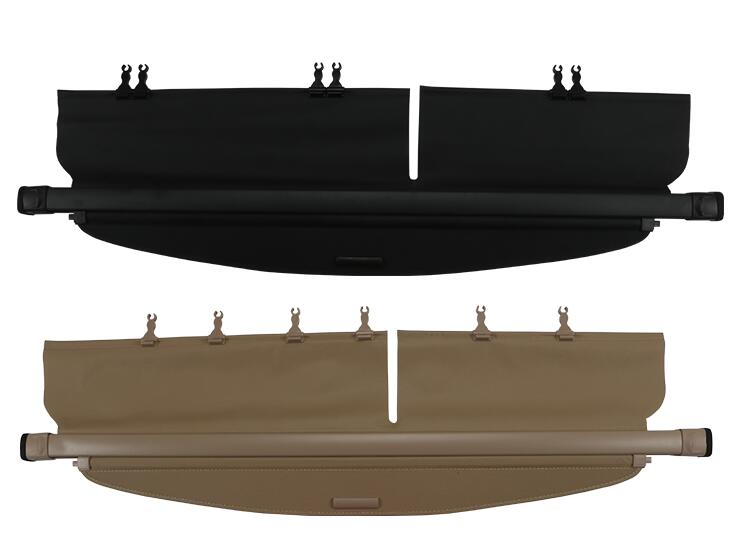 JIOYNG Car Rear Trunk Security Shield Shade Cargo Cover For Kia Carens 2007 2008 2009 2010 2011 2012 (Black, Beige) все цены
